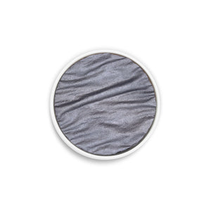 Coliro Finetec Watercolor - Single 30mm Pan - Silver Gray