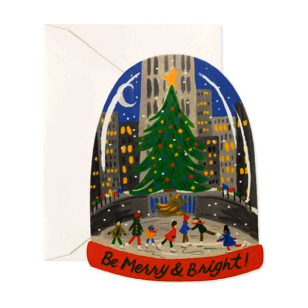 Rifle Paper Co. Greeting Card - Skating in the City Card