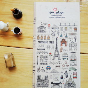Suatelier Stickers - 1027 Midnight Paris
