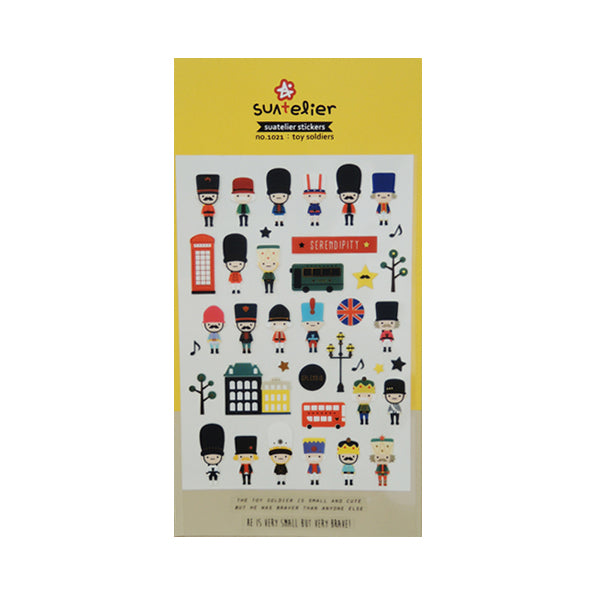Suatelier Stickers - 1021 Toy Soldier