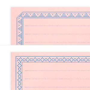 Midori Message Letter Pad - Pink