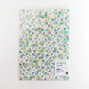 Chamil Garden Masking Sheets - Japanese Paper - Kaleidoscope MTK-CH305