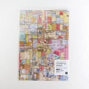 Chamil Garden Masking Sheets - Japanese Paper - City MTK-CH323