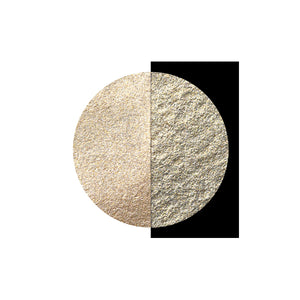 Coliro Finetec Watercolor - Single 30mm Pan - Moon Gold