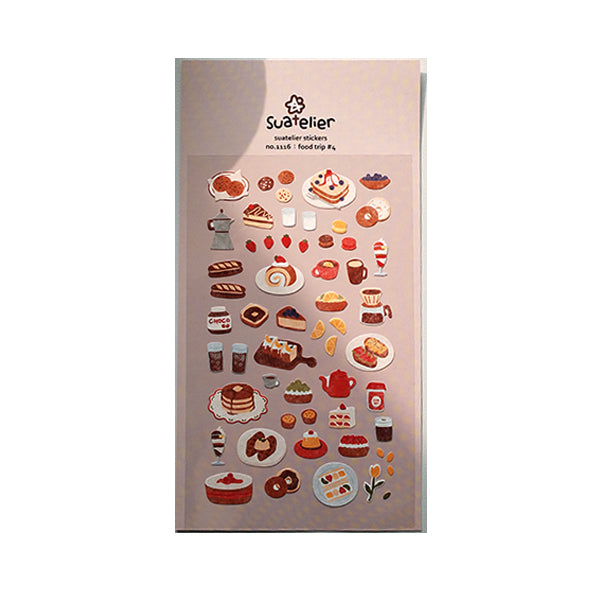Suatelier Stickers - 1116 Food Trip #4