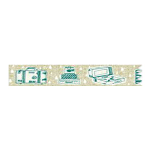 Hoppy Life Series Washi Tape - 4713077970560 Suitcase 1