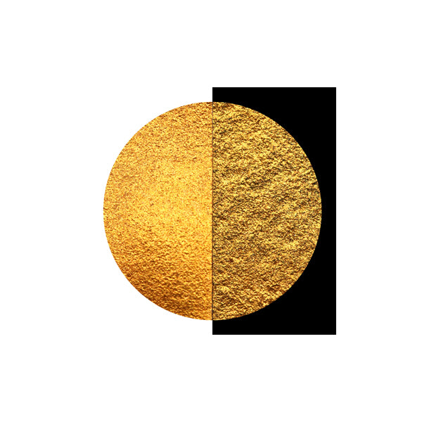 Coliro Finetec Watercolor - Single 30mm Pan - Inca Gold