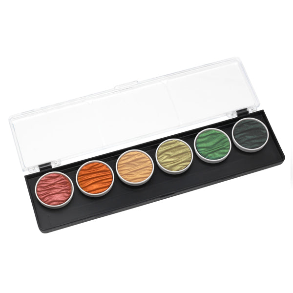 Coliro Finetec Watercolor - 6 Color Set - Autumn