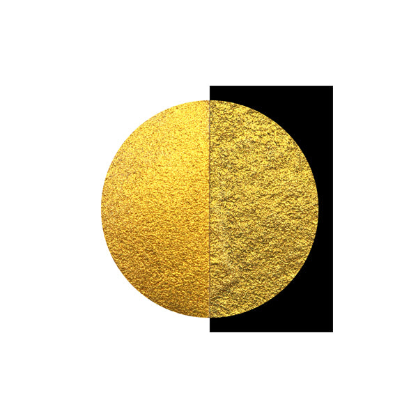 Coliro Finetec Watercolor - Single 30mm Pan - Arabic Gold