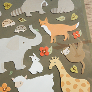 Suatelier Stickers - 1072 Land Animals