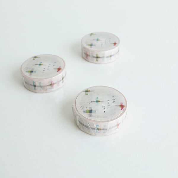 Yohaku Washi Tape - Y-065 Plus Nosekai