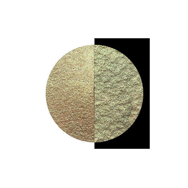 Coliro Finetec Watercolor - Single 30mm Pan - Golden Olive