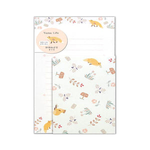 Yama Life Letter Writing Set - Fox