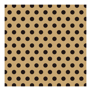 Midori Patterned Kraft Origami Paper - Kraft Assorted Black