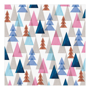 Midori Patterned Origami Paper - Watercolor Forest