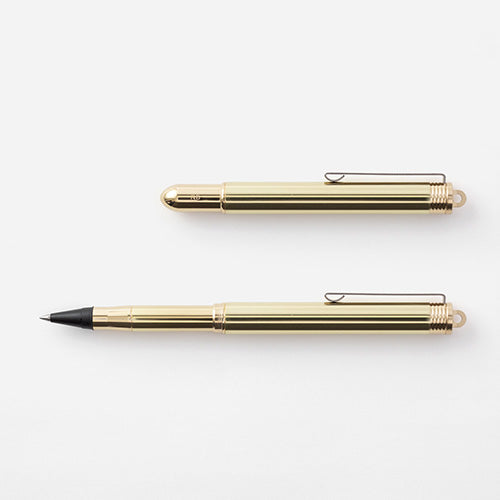 Traveler's Company TRC BRASS Rollerball pen Solid Brass - Traveler's Notebook
