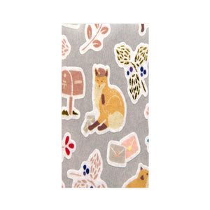 Yama Life Washi Sticker Seal - Fox