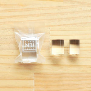 MU Print Mini Cylindrical Acrylic Block 2pc Set