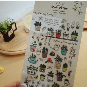 Suatelier Stickers - 1007 Fragrance