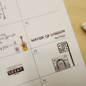 Suatelier Stickers - 1017 Days In London