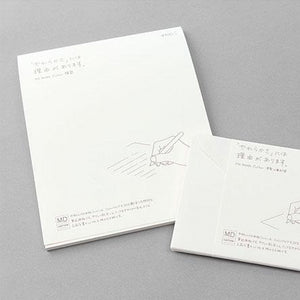 Midori MD Stationery - Horizontal Lined Letter Writing Pad