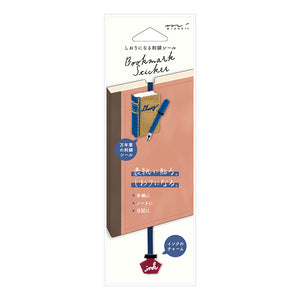 Midori Bookmark Embroidery Seal - Fountain Pen