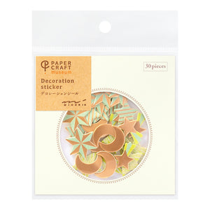 Midori Paper Craft Museum Stickers - Decoration Star