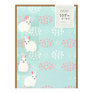 Midori Letter Writing Set -  Letter Set 397 Rabbit