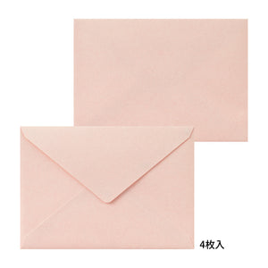 Midori Letter Writing Set -  Letter Set 462 Press Frame Pink