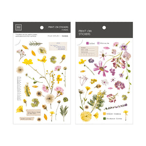 MU Print On Sticker Transfer - Yellow and Pink Florals - BPOP-001103