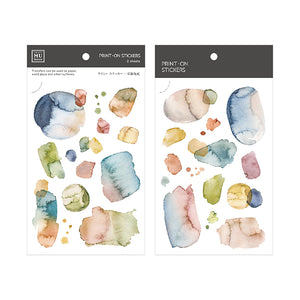 MU Print On Sticker Transfer - Color Series 133 Glass Amber - BPOP-001133