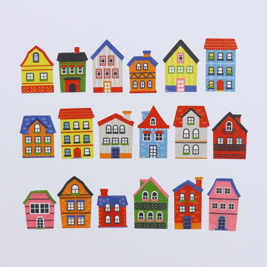 BANDE Houses BDA 277 Washi Paper Sticker Roll
