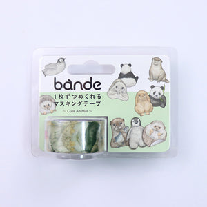 BANDE Cute Animals BDA 299 Washi Paper Sticker Roll