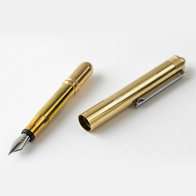 TRAVELER'S FACTORY Brass Solid Fountain Pen (38071006)