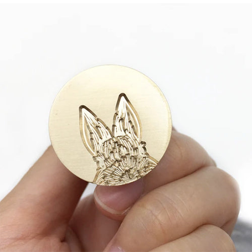Wax Seal Stamp - Mister Robinson - Bunny - 25mm