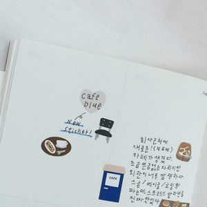 Suatelier Stickers - 1108 Cafe Blue