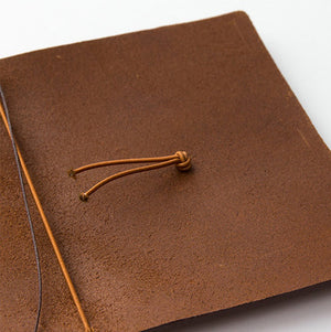 Traveler's Notebook Camel - Passport Size - Leather Journal Notebook Kit