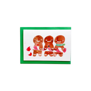 CocoBee Art Greeting Card - Gingerbread