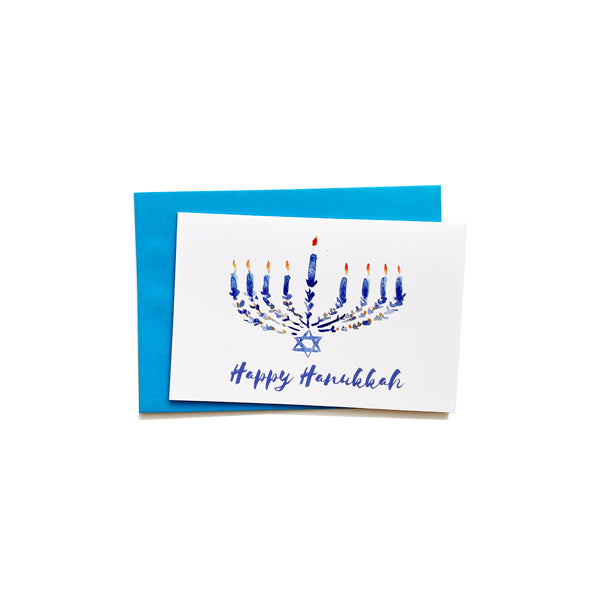 CocoBee Art Greeting Card - Hannukah
