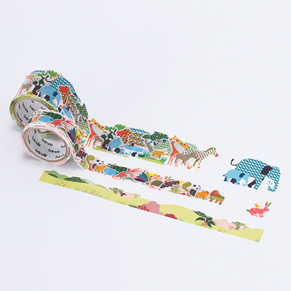 BANDE Colorful Safari BDA 222 Masking Roll Sticker