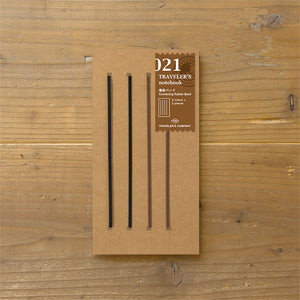 Traveler's Notebook Refill 021 - Regular Size - Connection Bands