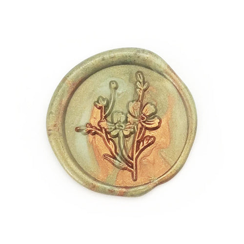 Wax Seal Stamp - Mister Robinson - Cosmos - 22mm