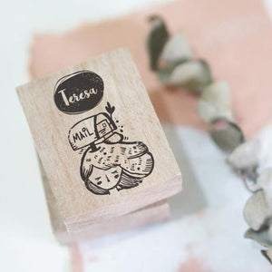 CUSTOM Black Milk Project Rubber Stamp - On My Head - Order closes Sept. 20th