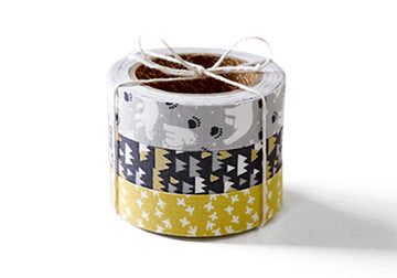 Daily Like White Night Fabric Tape Set