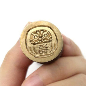 Wax Seal Stamp - Mister Robinson - Daruma - 20mm