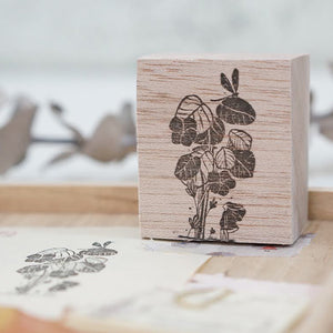PRE ORDER: Black Milk Project Rubber Stamp - Dragonfly Bush