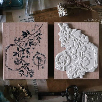 Lin Chia Ning Pre Order - Dried Flower Stamp Set B