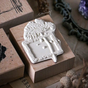 Lin Chia Ning - Dried Flower Stamp Set F