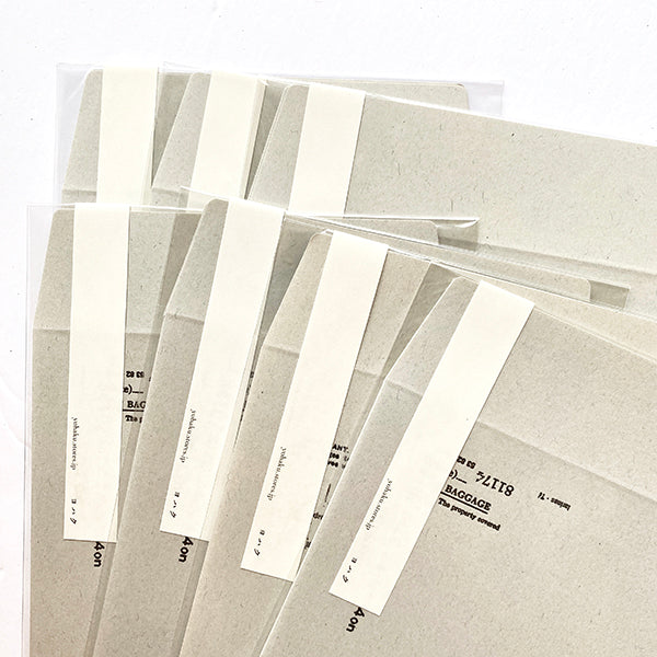 Yohaku Collage Letterpress Paper Envelopes