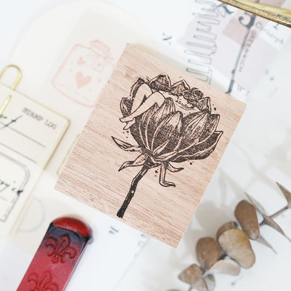 PRE ORDER: Black Milk Project Rubber Stamp - Floral Tub